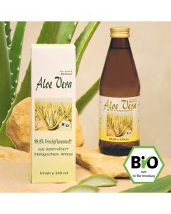 Aloe Vera Bio Saft   |   DE-ÖKO-012