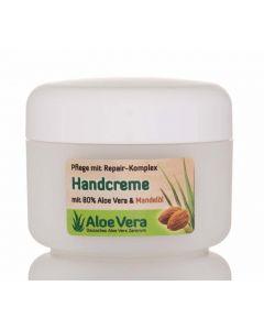 Aloe Vera Handcreme mit Mandelöl
