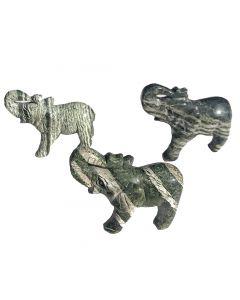 Elefant aus Silberauge