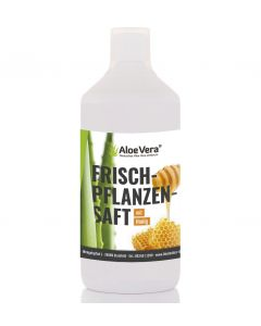 Aloe Vera Frischpflanzensaft mit Honig