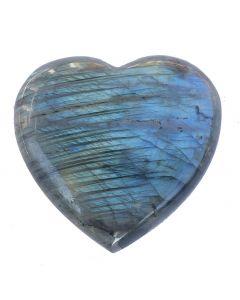 Herz aus Labradorit - Einzelstück!